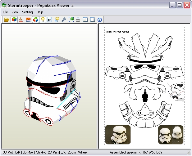 Stormtrooper (My version) | PaperBotz