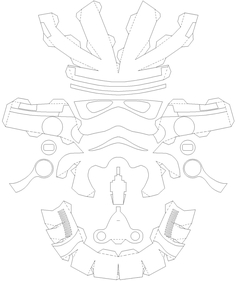 Pictures Of Stormtrooper Helmet Template
