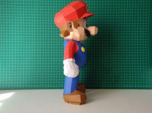 Super Mario Papercraft Dsc01048