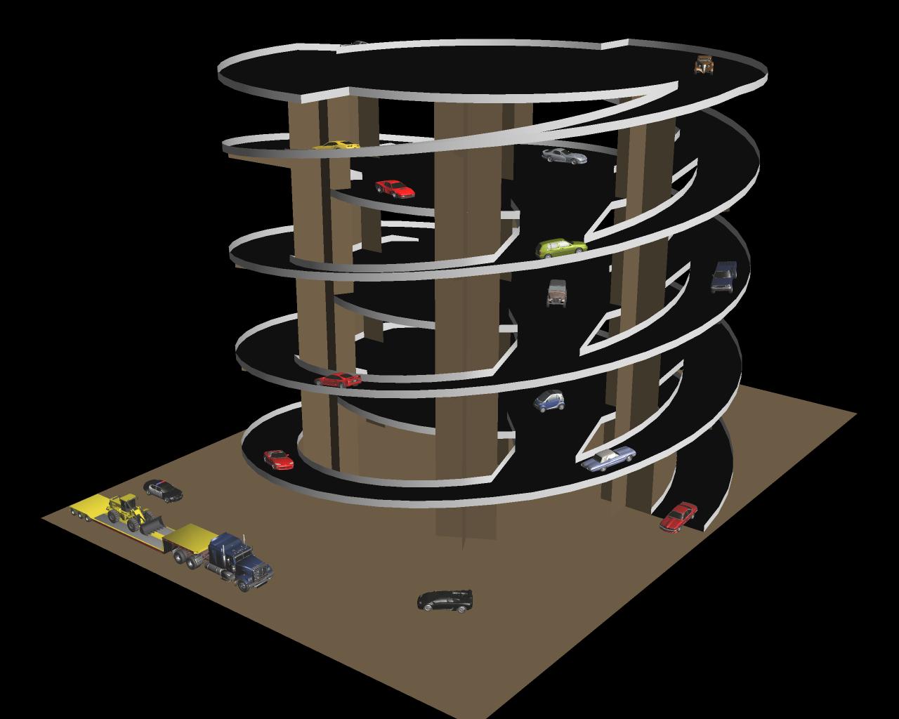 dual twister ramp design paperbotz rampa013w